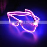 EL Wire Led Sunglasses color EL Wire Sunglasses