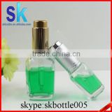packaging square glass dropper bottle 30ml for essential oil                                                                         Quality Choice