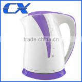 Plastic Electrical Portable Cordless Travel Or Hotel Use Plastic Kettle With Thermal Switch