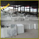 Precut good quality white marble tile for kitchen wall