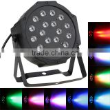 US Plug AC90-240V 25W LED Stage Lighting Effect Professional 7Channel RGB LED Stage PAR Light Strobe Disco DJ Equipment Lighting