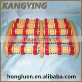 China Supplier Logo Printed Service Availbale Wooden Ball Massager
