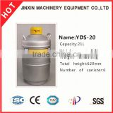 JX factory supply CE Certified portable liquid nitrogen tank /liquid nitrogen storage container