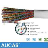 Indoor 0.4mm-0.5mm Multipair Communication Cable Multi Cores Cat3 Telephone Cable 20/25/30/50/100/200/300 Pairs