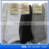 custom wholesale alibaba website white blank 100 polyester socks                                                                         Quality Choice