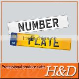 New Practical hot selling car number blank plate blanks