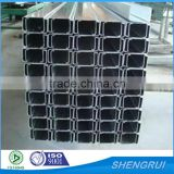 galvanized Q195 Q235 Q345 metal C shaped profile structure steel