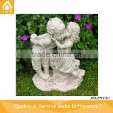 Kissing Boy And Girl Garden Statue