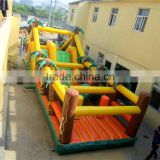 Plam Jungle boot camp inflatable obstacle course