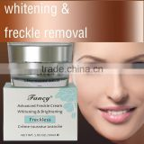 wholesale face anti acne whitening cream to remove freckles