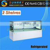 Embraco Compressor Display Cake Refrigerator Showcase (SY-CS268D SUNRRY)