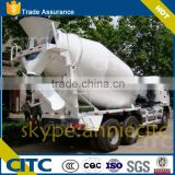 Cement mixer truck transportation/cement mixer trailer vehicle with high quality on sales