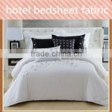 100% polyester hotel bedsheet fabric of good quality with factory