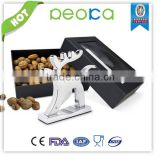 BEST French certification Zinc Alloy animal nut cracker