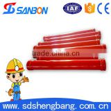 concrete pump pipe concrete pump/stainless steel flexible pipe concrete pump pipe fittings