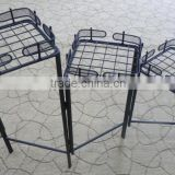 wholesale flower stand shelf, planters folded rack for pot, home decor wrought iron plant stand(Guangzhou Factory)