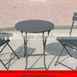 CARREFROUR polywood outdoor furniture plastic wood chair table furniture                                                                                         Most Popular