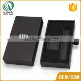 Pen packing silver hot stamping pre wrapped gift boxes black gift box with insert                                                                         Quality Choice                                                                     Supplier's Cho