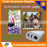 "A3 A4 24"" 36"" 44"" 62"" 63"" Heat Transfer Paper/Sublimation Paper/Sublimation Transfer Paper"