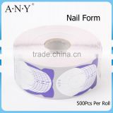 ANY Nail Shaper Dual Form Nail System Reusable Nail Form 500