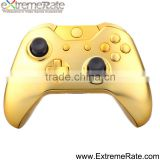 For Xbox one controller shell case, replacement housing for Xbox one chrome gold shell with button kits