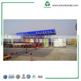 CNG Gas Station with Natural Gas Compressor