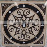 120x120 marble medallion floor design pictures waterjet madallion