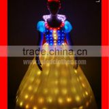 Programmed LED adult princess costume for party dress or stage performance