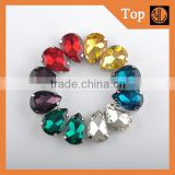 Teardrop rinestone crystal beads sew on rhinestone claw setting crystals                                                                         Quality Choice