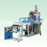 Plastic PP film making machine from Donglong plastic machinery
