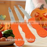 Hot Sale Halloween Pumpkin stainless steel carving kits