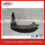 FRONT SPLITTERS FOR BMW F80 M3 FOR F82 M4 CARBON FIBER LIP SPLITTER