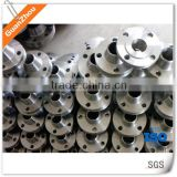Forged flange OEM AND CUSTOM from China supplier and manufacture with stainless steel 304, iron, aluminum