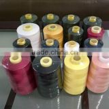 100%Polyester Material and High Temperature Resistant Feature 40/2 polyester sewing thread