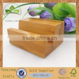 customized bamboo mobile display stand
