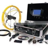 40M industrial endoscope underwater video system/pipe wall inspection system 40M pipe camera