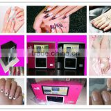 touch screen Windows XP digital nail art painting machine