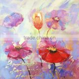 DEC008 Home Decoration Famous Simple Abstract Flower Paintings For Sale