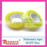 1 Inch Plastic Core Bopp Film Adhesive Gum Packing Stationery Tape
