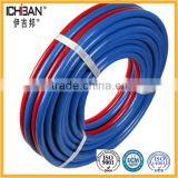 Heavy Duty EPDM flexible Multiple Textile braided read and blue twin rubber welding hose gas hose