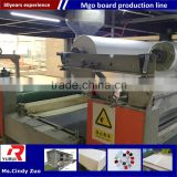 automatic mgo drywall board making machine production line/mgo partition wall panel making machine