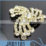 Unique Design High Quality Popular Windmill Shape Rhinestone Decorative Button with 888Crystal for Clothing
