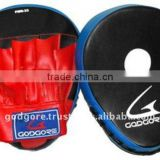 Training and Competition Durable Hand Crafted Eva Foam Padding Standard Red and Black Artificial Leather Boxing Focus Mitts