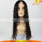Wholesale Free Tangle Virgin Chinese Hair Jewish Wig