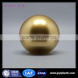 Ball & gold color cream jar Round Acrylic Plastic Cream Jar skin care cosmetic packaging
