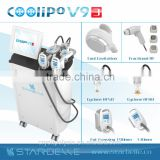 Big Roller Vacuum RF Cavitation Machine For Thigh Cellulite Reduction