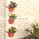 plastic vertical hanging green wall garden planter