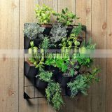 plastic vertical hanging garden green wall system