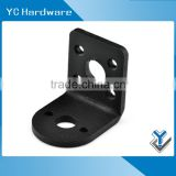 Machining stamping steel solar panel metal heavy duty angle roof mounting L shape shelf corner braket