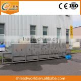 Automatic stainless steel sea food plastic crate washing machine